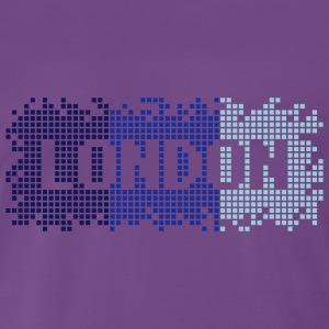 Purple London Pullover & Hoodies - Männer Premium T-Shirt