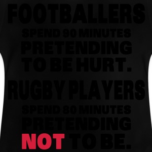 Footballers Pretend to Be Hurt T-shirts - Baby T-shirt