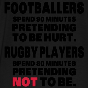 Footballers Pretend to Be Hurt Hoodies & Sweatshirts - Men's Premium T-Shirt