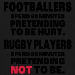 Footballers Pretend to Be Hurt bolsas - Camiseta premium hombre