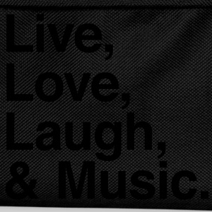 live love laugh and music Shirts - Kids' Backpack