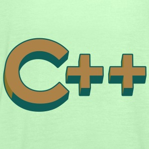 Programming Languages: C++ / C plus plus Hoodies & - Women's Tank Top by Bella