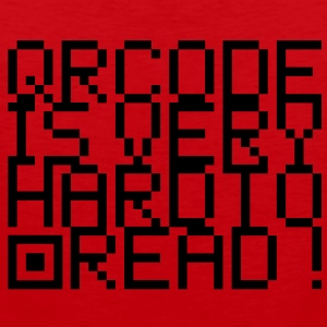 QR Code is very hard to read T-Shirts - Débardeur Premium Homme