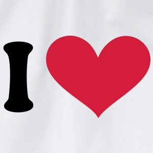 I love, I heart. . T-shirts - Sportstaske
