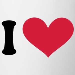 I love, I heart. . T-shirts - Mok