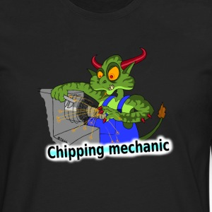 Chipping mechanic T-Shirts - Men's Premium Longsleeve Shirt