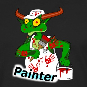 painter T-Shirts - Men's Premium Longsleeve Shirt
