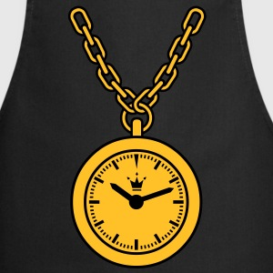 clock chain T-Shirts - Cooking Apron