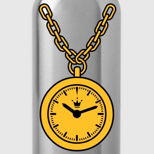 clock chain T-Shirts - Trinkflasche