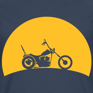 Chopper in the sunset  Hoodies & Sweatshirts - Men's Premium Longsleeve Shirt