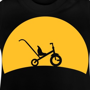 Tricycle i solnedgangen  T-shirts - Baby T-shirt