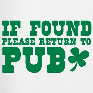if found please return to PUB st patricks funny T-Shirts - Men's Football shorts