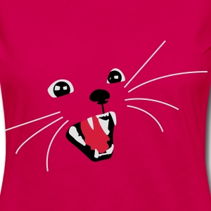 Bad Cat  Aprons - Women's Premium Longsleeve Shirt