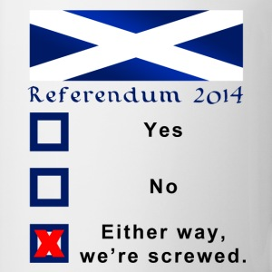 Funny Scottish Referendum 2014 Ballot - Mug