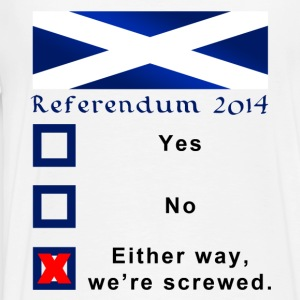 Funny Scottish Referendum 2014 Ballot - Men's Premium T-Shirt