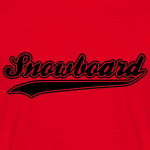 snowboard Hoodies & Sweatshirts - Men's T-Shirt