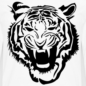 Tigre Tiger Tee shirts - T-shirt manches longues Premium Homme