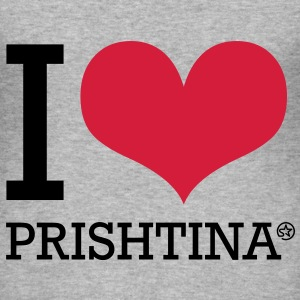 I LOVE PRISHTINA - Männer Slim Fit T-Shirt