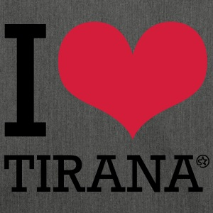 I LOVE TIRANA Felpe - Borsa in materiale riciclato