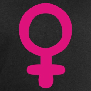 Black Female Sign /  Feminism Men's Tees - Men's Sweatshirt by Stanley & Stella