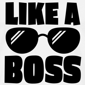 like a boss 1c Hoodies & Sweatshirts - Men's Premium T-Shirt