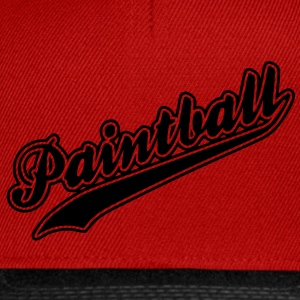paintball - Casquette snapback