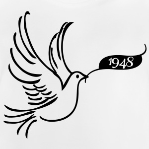 Peace dove with year 1948 Shirts - Baby T-Shirt