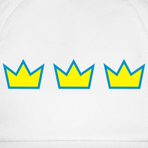 Three crowns - Baseballkappe