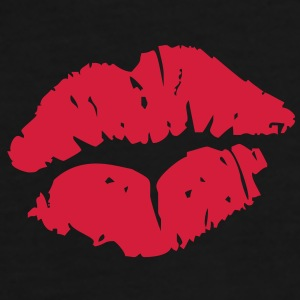 Kissing Lips Taschen - Men's Premium T-Shirt