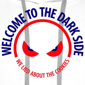 Welcome To The Dark Side 1 (dd)++2012 Bags  - Men's Premium Hoodie