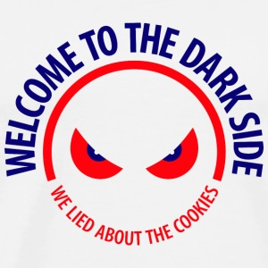 Welcome To The Dark Side 1 (dd)++2012 Väskor - Premium-T-shirt herr