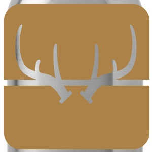deer antlers Underwear - Water Bottle