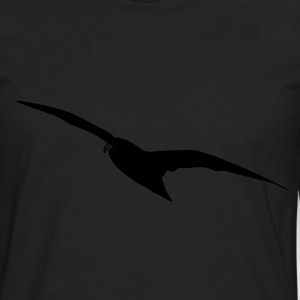 Flying Bird / Vogel T-shirts - Mannen Premium shirt met lange mouwen