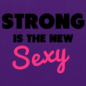Strong Is the New Sexy Sweaters - Tas van stof