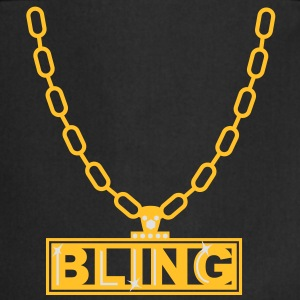 necklace bling ketting T-shirts - Keukenschort