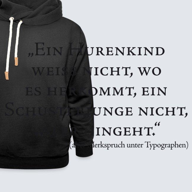 Hurenkind/Schusterjunge
