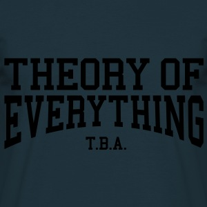 Theory of Everything - T.B.A. (Over-Under) Hoodies & Sweatshirts - Men's T-Shirt
