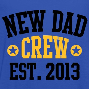 NEW DAD CREW EST 2013 T-Shirt HW - Women's Tank Top by Bella