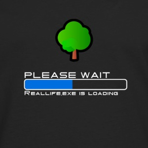 Reallife.exe is loading. Please wait - Männer Premium Langarmshirt