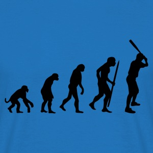 Red Evolution of baseball Jumpers - Men's T-Shirt