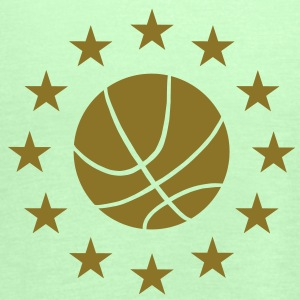 Basketball & Stars T-Shirts - Women's Tank Top by Bella