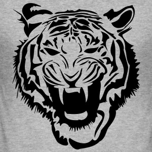 Tigre Tiger Sweat-shirts - Tee shirt près du corps Homme
