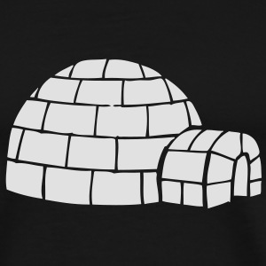 Igloo Sweatshirt - Men's Premium T-Shirt