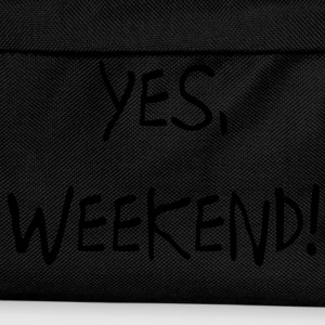 Yes, Weekend!  Felpe - Zaino per bambini