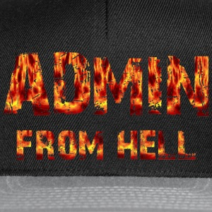 ADMIN from hell - Snapback Cap