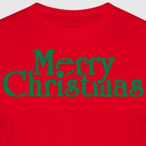 Merry Christmas Tabliers - T-shirt Homme