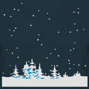 Christmas Winter Wonder Land Tabliers - T-shirt Homme
