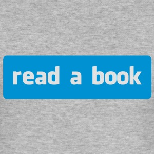 read a book Gensere - Slim Fit T-skjorte for menn