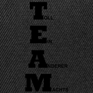 Team - Toll ein anderer machts T-Shirts - Snapback Cap