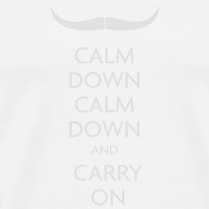 Scouser Black — Movember - Men's Premium T-Shirt